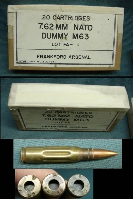 Where to buy Lake City M63 dummy rounds? - M14 Forum
