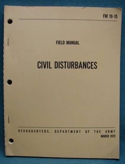 crowd control and riot manual