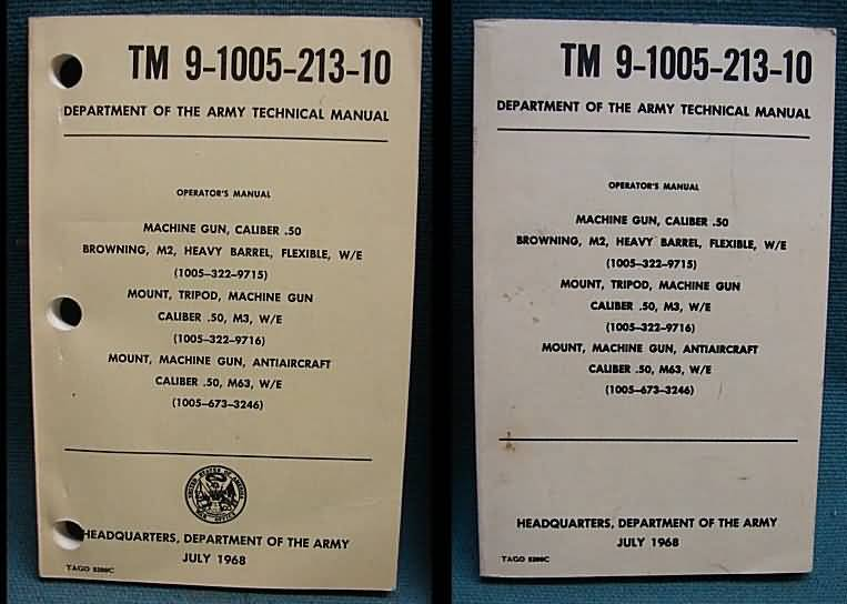 Military manuals, government reports and publications